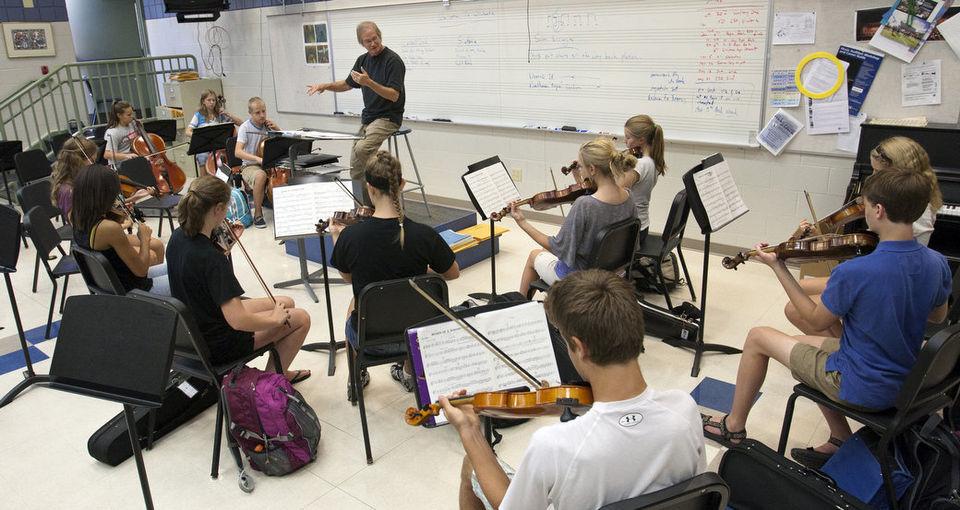 John Conducting